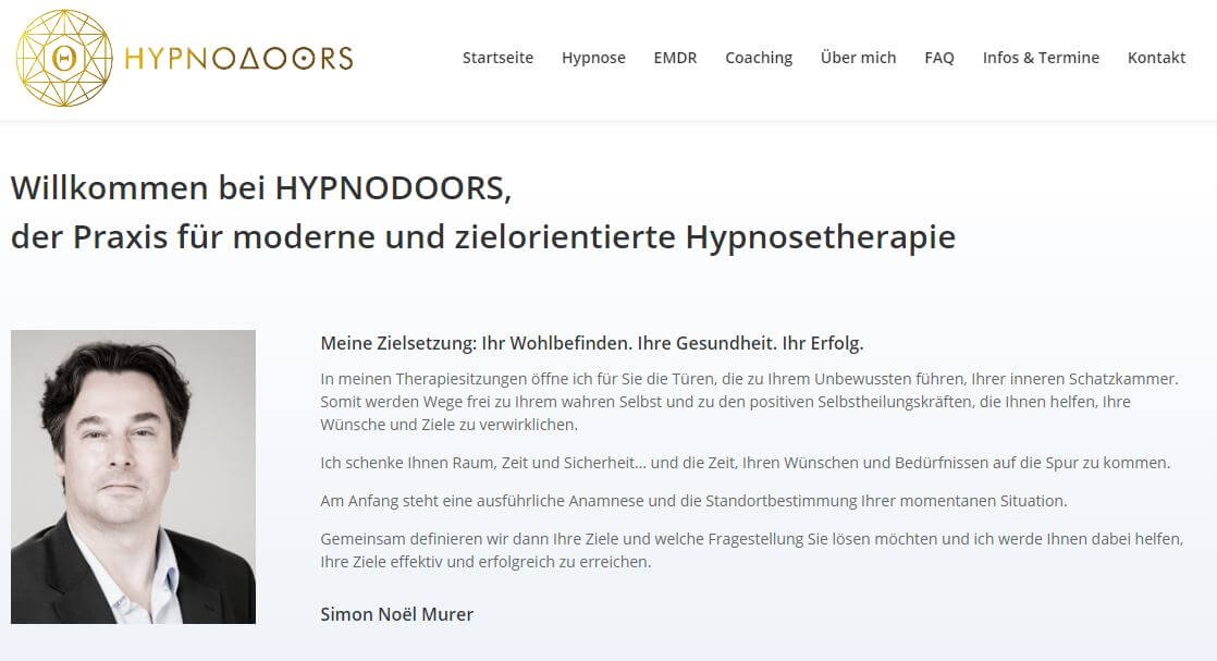 hypnodoors website
